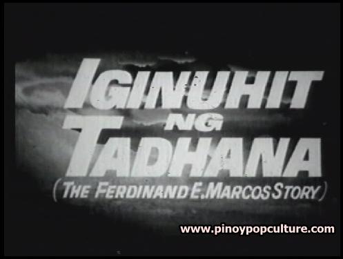 Iginuhit ng Tadhana, title card