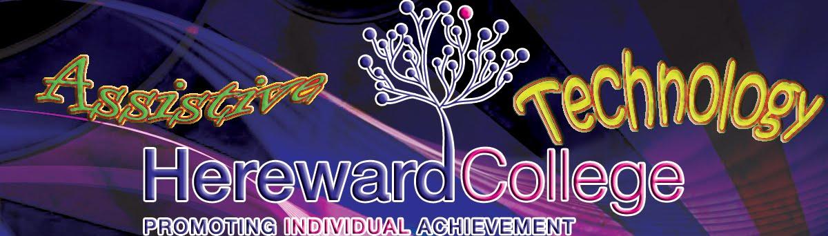 Hereward College Assistive Technology Blog