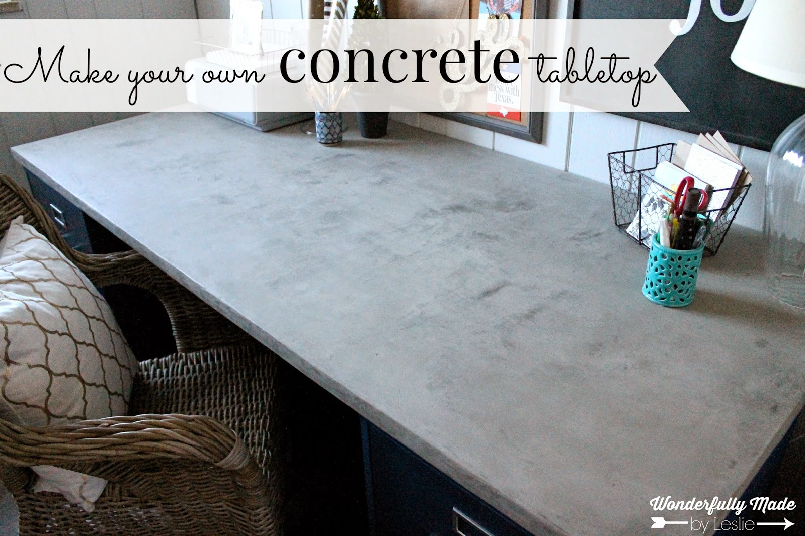 one last thing i want to mention is that the concrete has character originally i wanted an even gray finish but that is just not how this concrete works