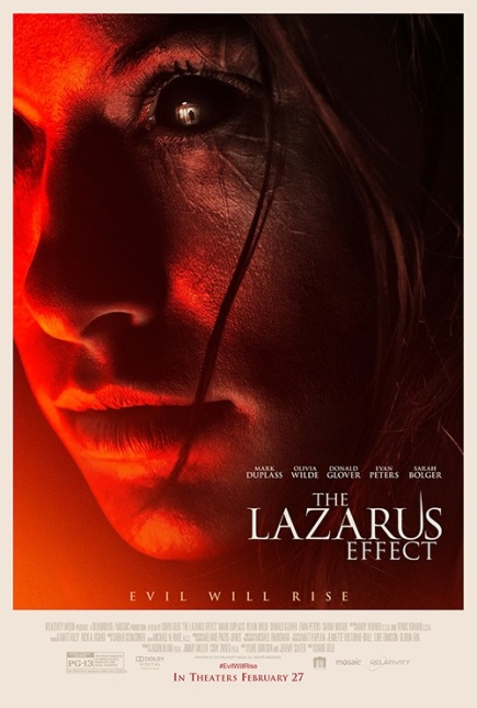"""The Lazarus Effect (2015)"" movie review by Glen Tripollo"
