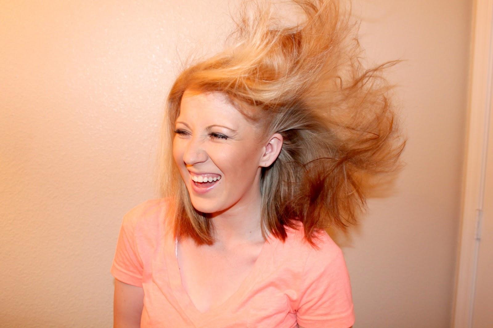 Caitlin Nell Dryer Hair dryers + messy bun