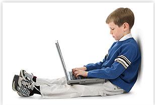 Posisi Menaruh Laptop yang Salah