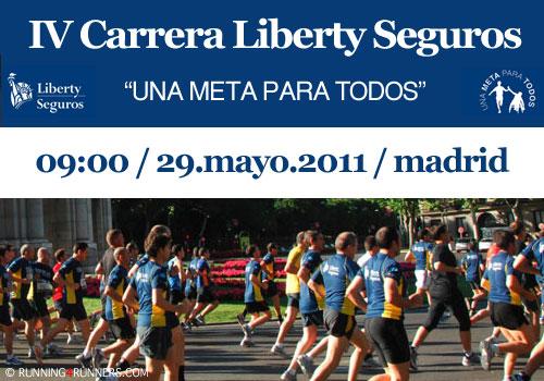 IV Carrera Liberty Seguros 2011