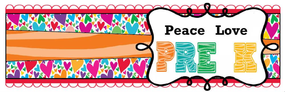 Peace, Love, Pre-K