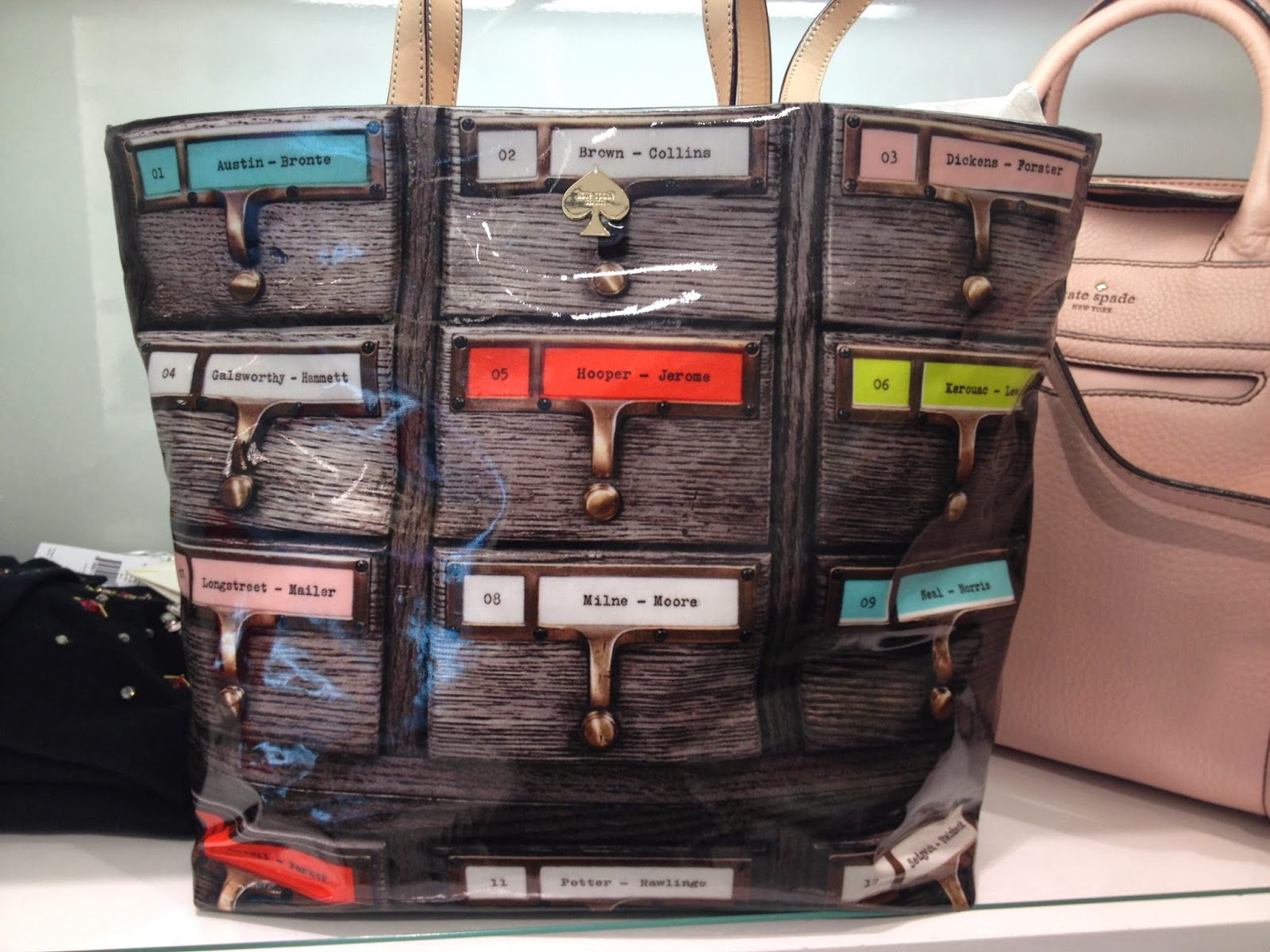 Library Book Inspired Purses From Kate Spade