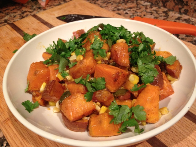 ... Table: Loving Food in RI & Beyond : Sweet Potato & Grilled Corn S...