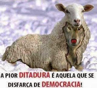 corrupção ditadura democracia manipulação