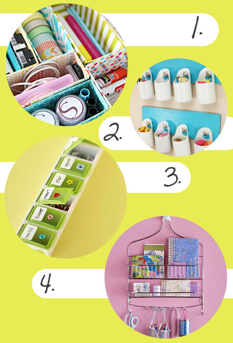 Creative DIY Storage Solutions & Organization Ideas for the Home and Office Made from Recycled, Upcycled and Repurposed Items! Looking for ideas to better organize your space? Here are a few of my favorite frugal & creative DIY storage solutions and organizing ideas for the home that take the ordinary and turn them into the extraordinary - without having to spend a lot of money.