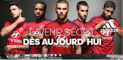 maillot de foot Lyon 2015-2016