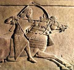 guerreiro da mesopotâmia, arte na mesopotâmia