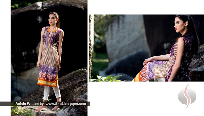 Firdous Summer 2015 Kurti Collection
