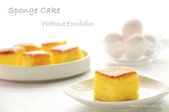 sponge cake tanpa emulsifier and gluten free