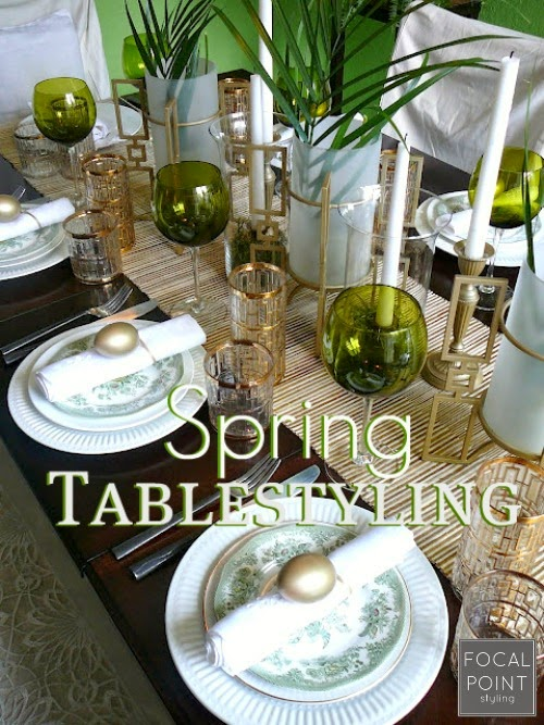 Focal Point Styling: Spring Tablescape Ideas Nice Look