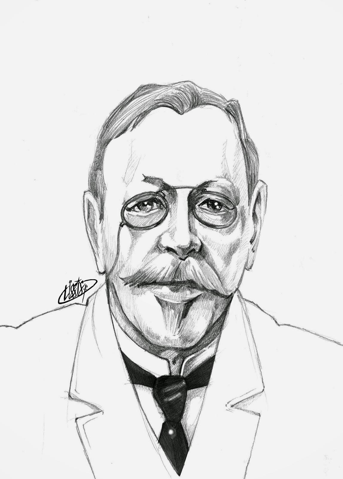 Hans Cristian Joaquim Gram - sketch
