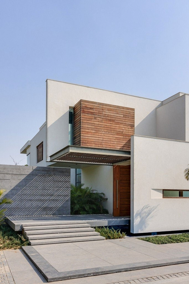 Modern farmhouse by dada partners in new delhi india for Farmhouse architects