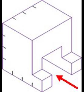 Figura 34: Sistema diédrico - obtención de vistas