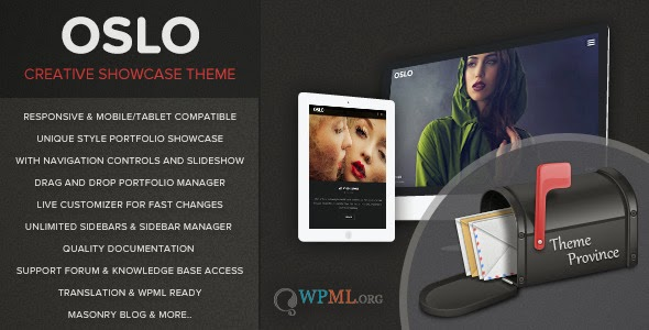 Oslo - A Showcase Portfolio WordPress Theme