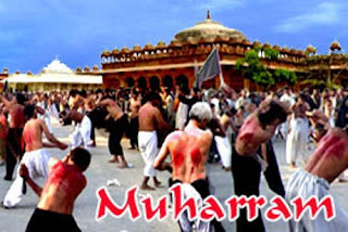 muharram people beating with knives