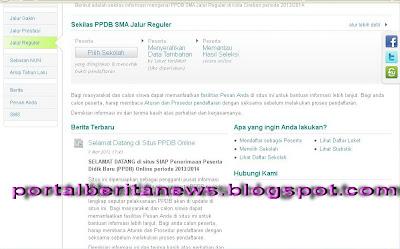 CARA PENDAFTARAN LENGKAP PENERIMAAN SISWA BARU PPDB ONLINE DI SELURUH KOTA INDONESIA