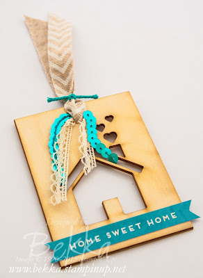 Home Sweet Home Decor - An Easy Home Decor Project