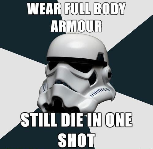 Jedi Mouseketeer: Meme Week: Star Wars - Trooper Armor