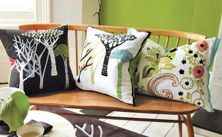 La silla turquesa guerra de almohadas - Como hacer puff artesanales ...