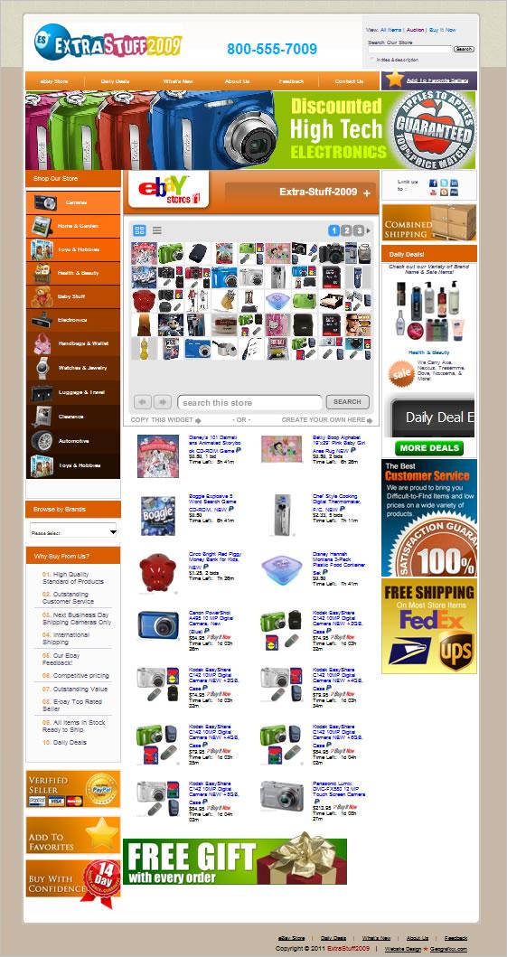 ebay templates html template generator ebay stores template design extrastuff2009 new ebay. Black Bedroom Furniture Sets. Home Design Ideas