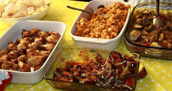 gambar hidangan makanan saat lebaran