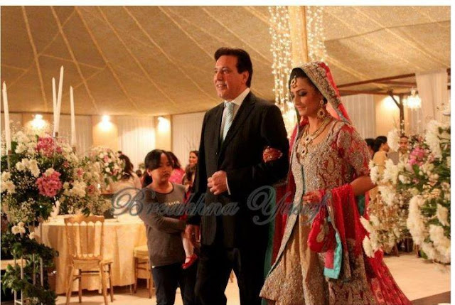 javed sheikh with her daughter