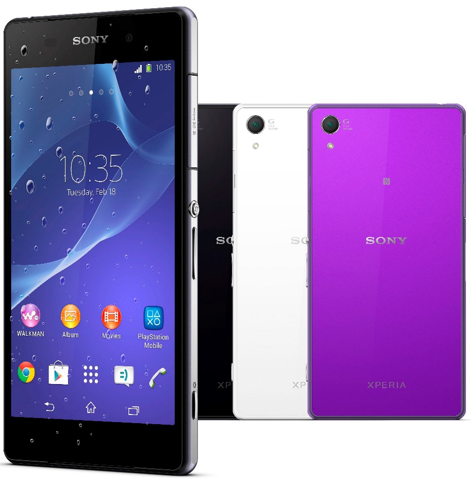 Sony Xperia Z2 advantages over Samsung Galaxy S5