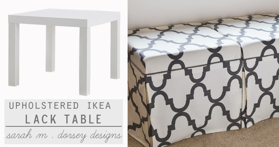 sarah m dorsey designs lack tables to upholstered ottomans