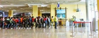 Phnom Penh Airport Departure