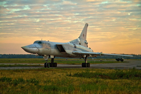 Tu-22M Backfire Supersonic Bomber Aircraft