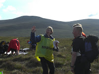 Fiona Maxwell sets us off on Day 1 at Loch Glascarnoch
