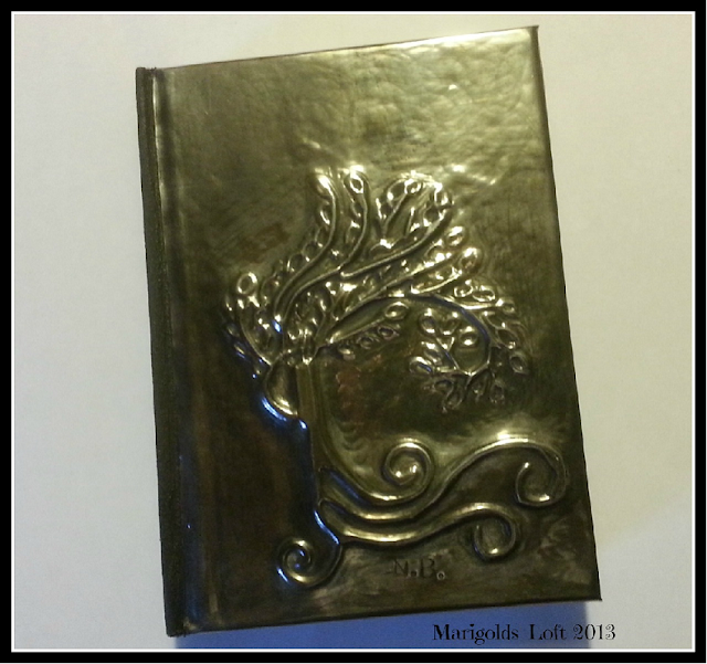 Tree - embossed notebook