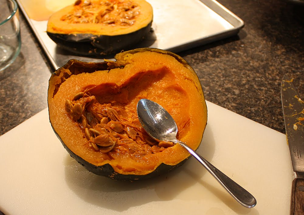 how to cook kabocha squash whole