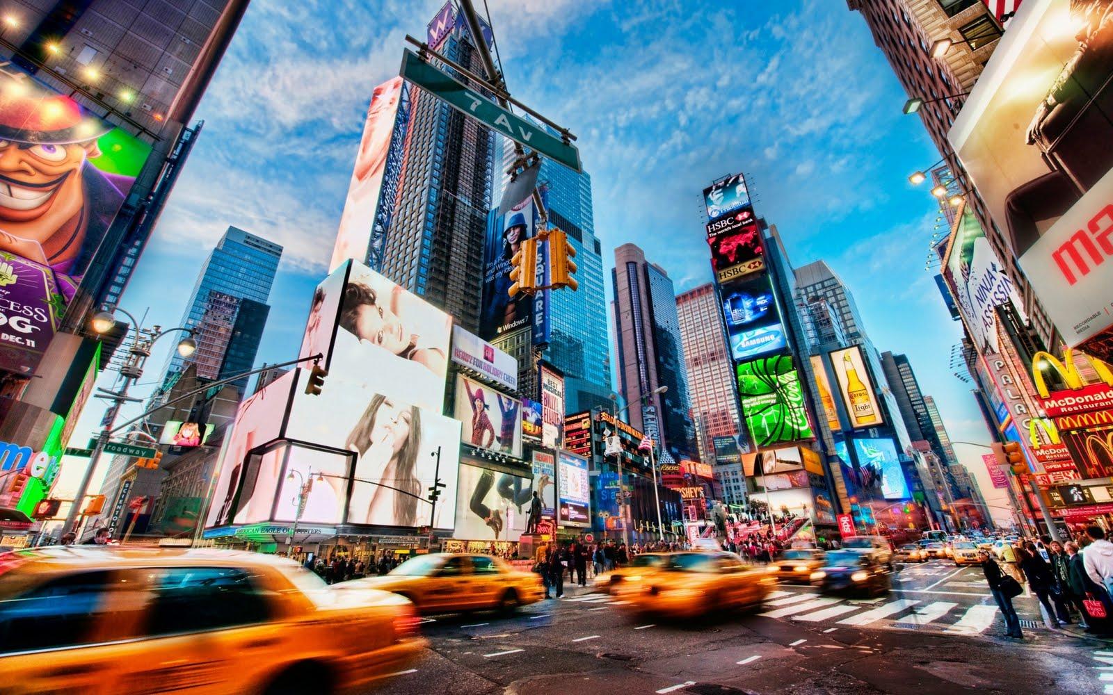 Valentine Day 2014 New York Times Square Hd Wallpaper