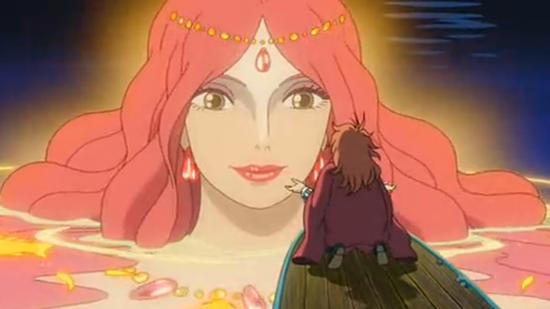 Sirena reina de las profundidades