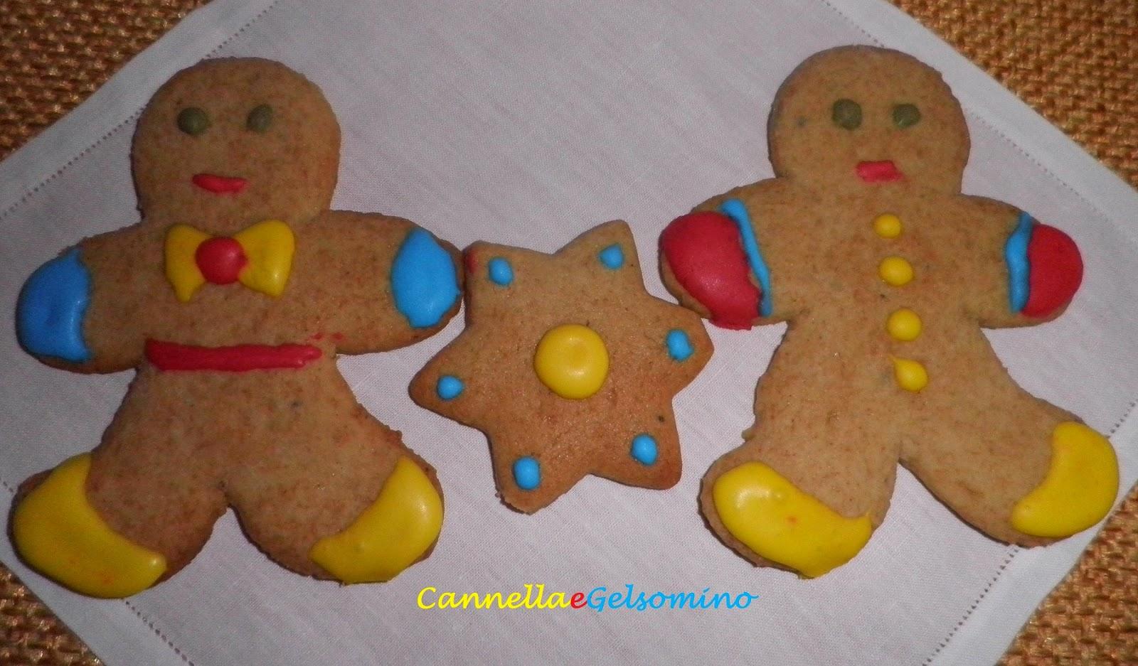 biscottini di pan di zenzero