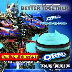 Oreo x Transformers Giveaway