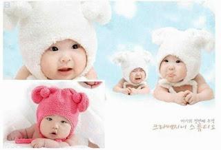 Topi Bayi Imut dan Lucu