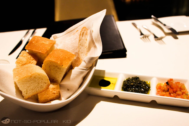 Tosca's Service Bread with 3 Options to Pair