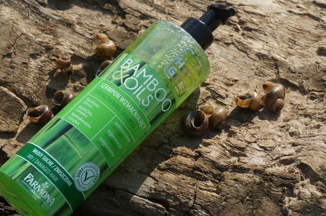 Szampon Hair Genic Bamboo & Oils Farmona - ulga dla suchych włosów