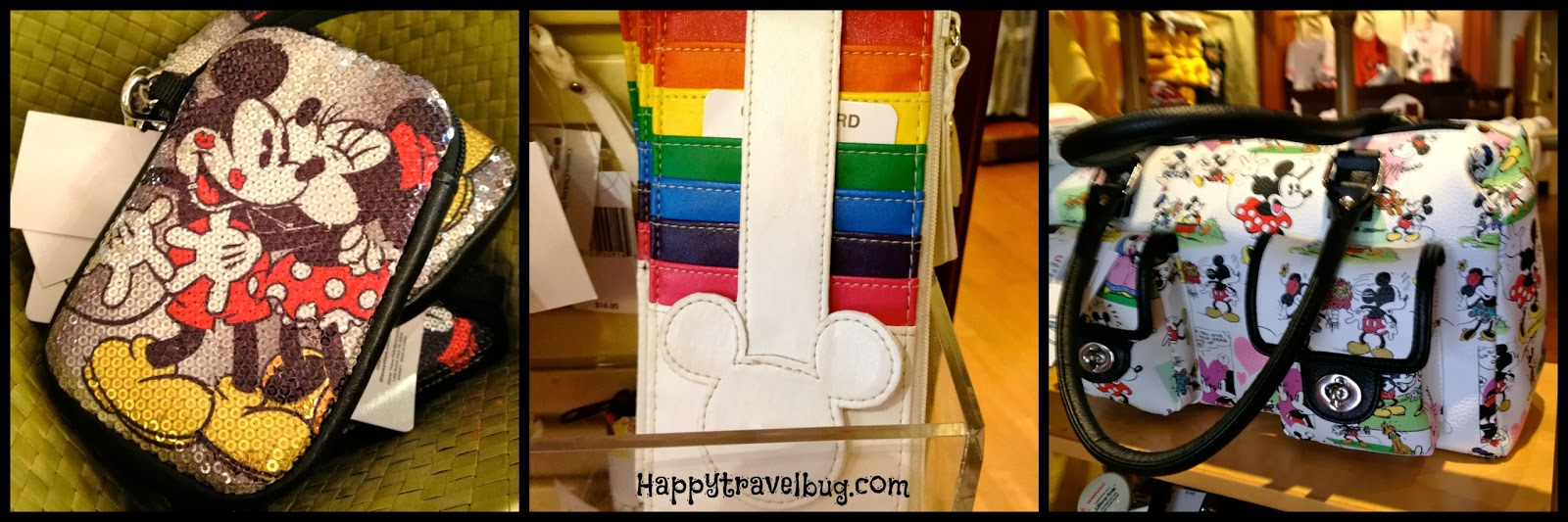 Disney handbags, wallets and organizers