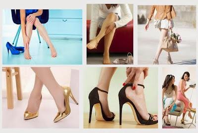 Mẹo hay để đi giày cao gót tránh bị đau chân