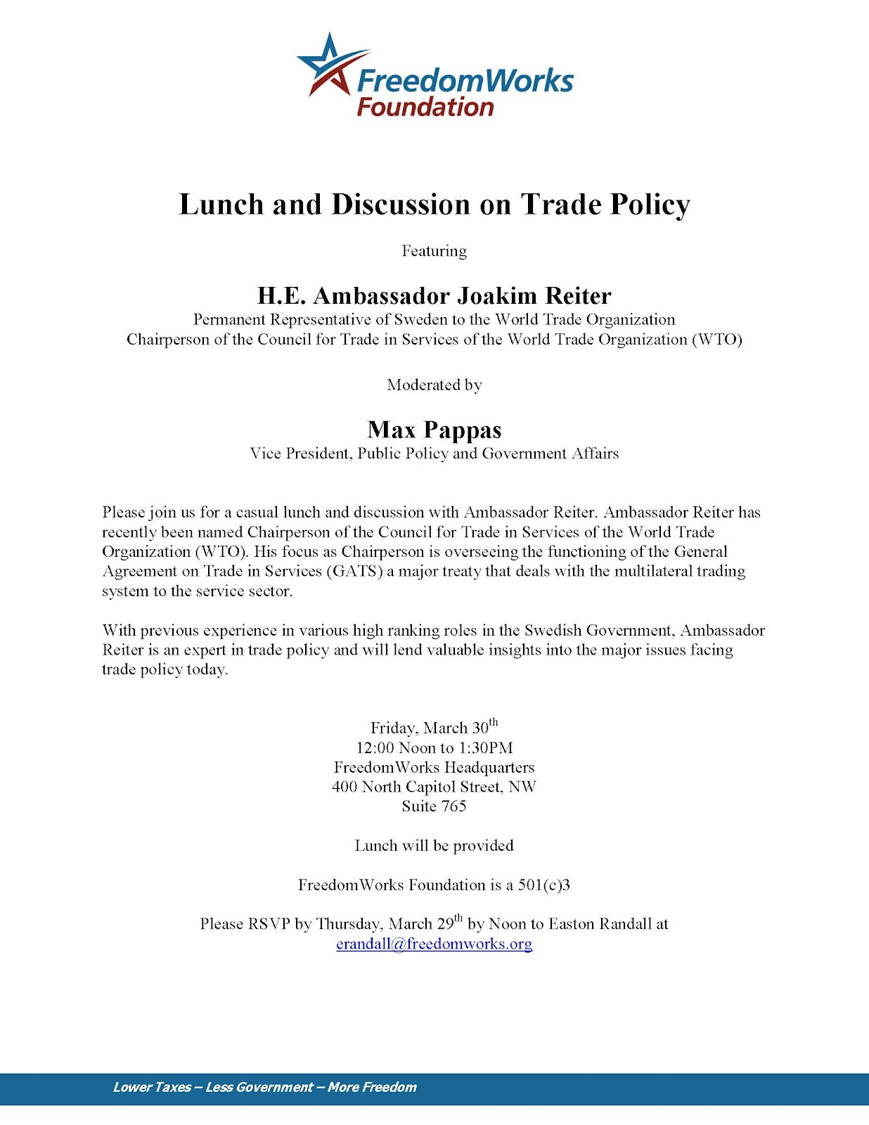 Scott lincicome attention dc trade nerds have lunch with wto scott lincicome attention dc trade nerds have lunch with wto services chair amb joakim reiter stopboris Image collections