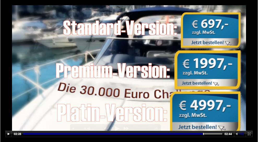 Die 30.000 € Challange startet genau JETZT!