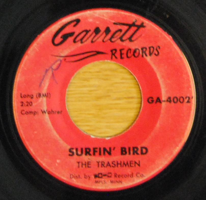 The Trashmen Surfin Bird El Surf Del Pajaro