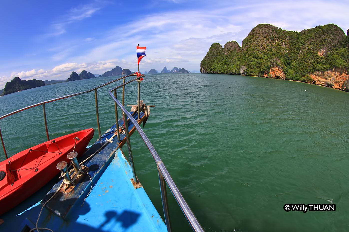 Phang Nga Bay by Kayak