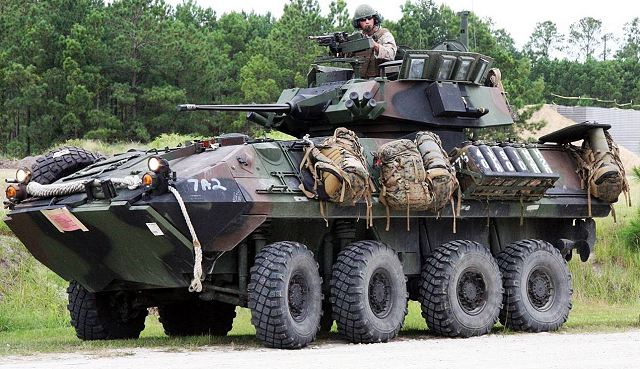 Lovely General Dynamics To Supply 33 Light Armored Vehicles LAV A2 To The U.S.  Marine Corps Amazing Design